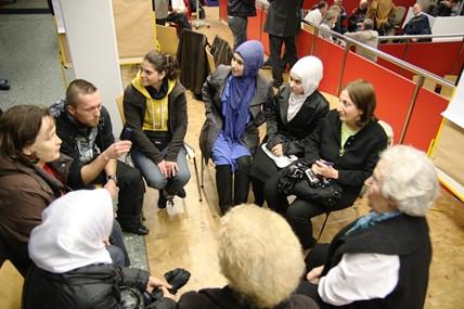 StadtRadTour: Wie geht Hannover mit seinen Flüchtlingen um?
