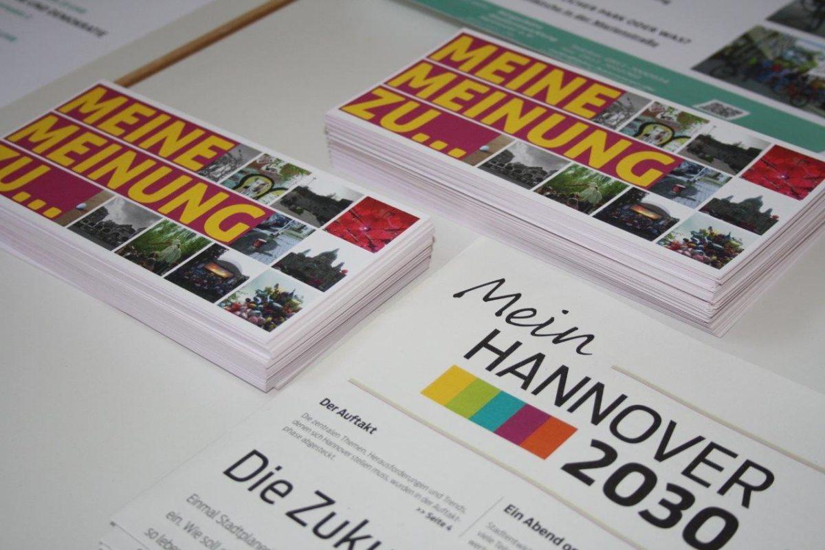"""Abschlussveranstaltung """"Mein Hannover 2030 unter der Lupe"""""""