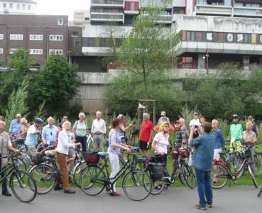Stadtradtour 24.07.2016: Ist hoch hinaus von Ubel