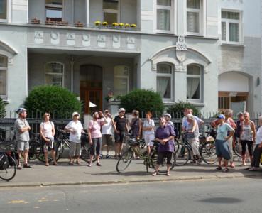 Stadtradtour 26.08.2016: Jugendstil – Angst vor der Fläche