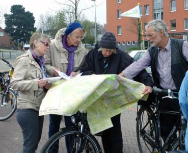 Stadtradtour 26.04.2013 – Frühes Grün am südlichen Kronsberg