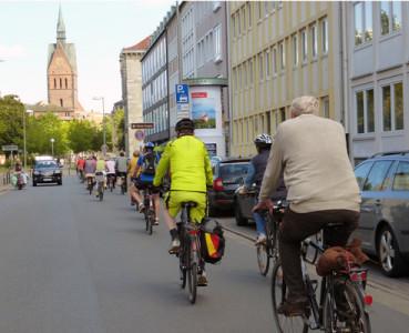 Stadtradtour 29.08.2014: Einkaufen in Hannovers Norden – von der Nebgen-Bude zur Einkaufsmall