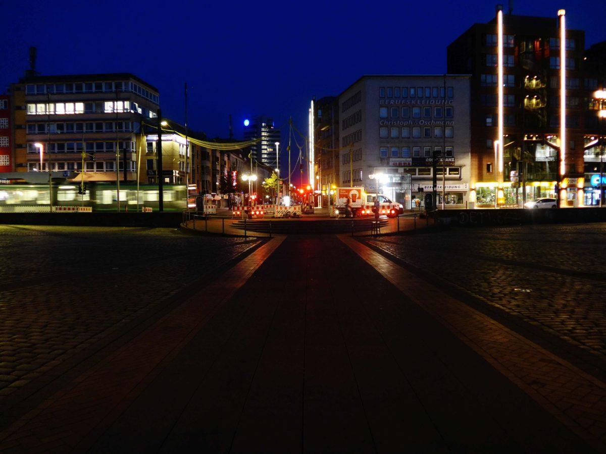 Plätze, Parks & Co. - Öffentliche Räume - nachts!
